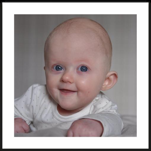 Tackkort dop och namngivning med ett foto