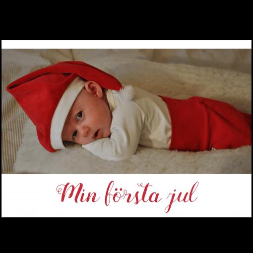 Julkort med foto A6 nr.10
