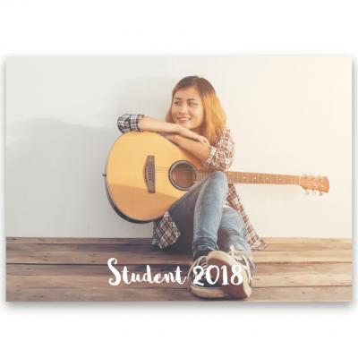 Inbjudningskort student nr. 6 Sophia1