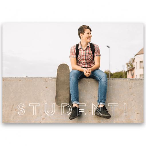 Inbjudningskort student nr. 7 Otto2
