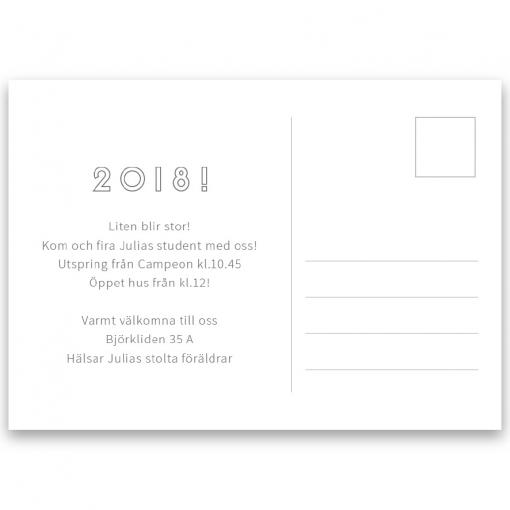 Inbjudningskort student nr. 7 otto1