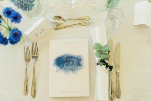 bröllopsinbjudan och festprogram till bröllop