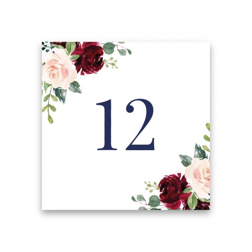bordsnummer till bröllop